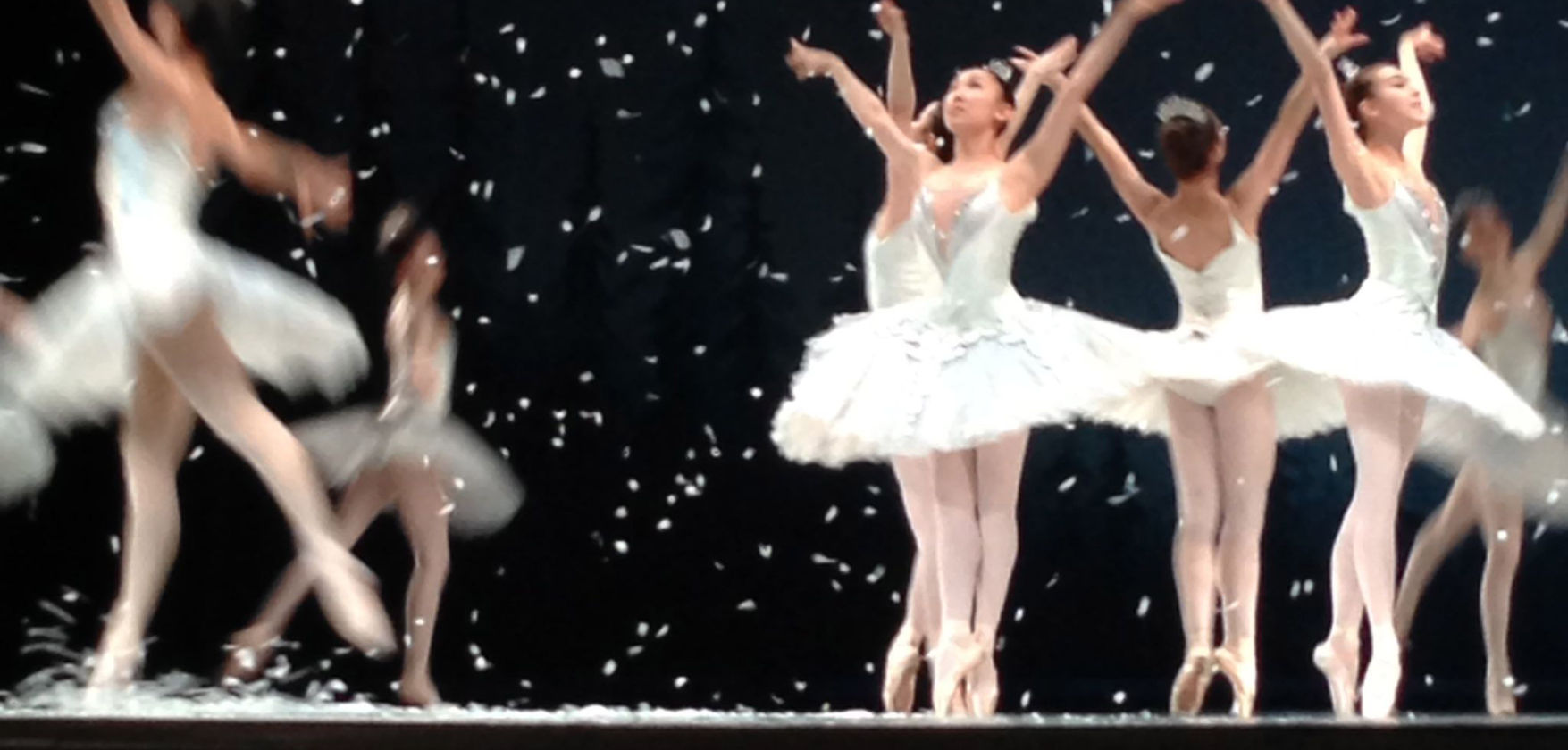 Nutcracker rehearsal by Royal Winnipeg Ballet. Rehearsal Photo: Shireen McNeilage
