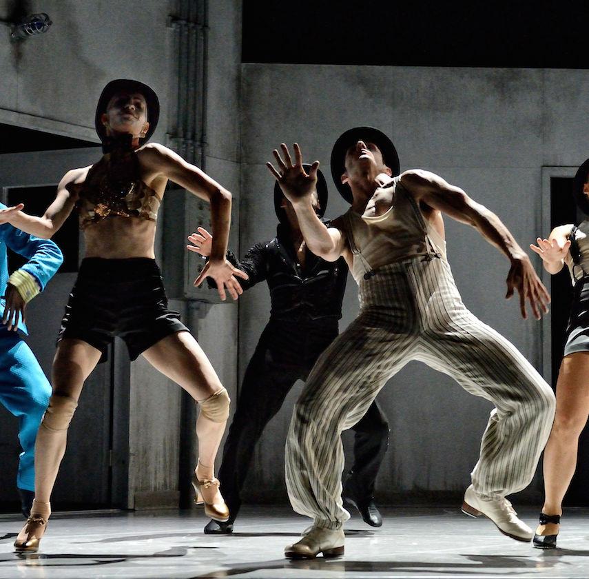 Kidd Pivot & Electric Company Theatre's Betroffenheit. Photo by Michael Slobodian