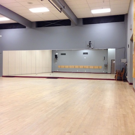 Shaw Studio at Dance Victoria Studios on Quadra Street, near Quadra Village, Victoria, BC
