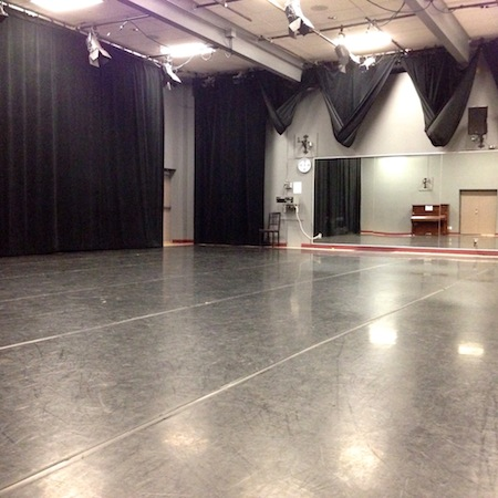 Vernon Studio at Dance Victoria Studios on Quadra Street, near Quadra Village, Victoria, BC