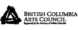 BC Arts Council public funder