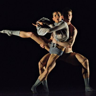 Twenty Eight Thousand Waves by Ballet BC. Dancers: Rachel Meyer & Scott Fowler. Photo: Michael Slobodian