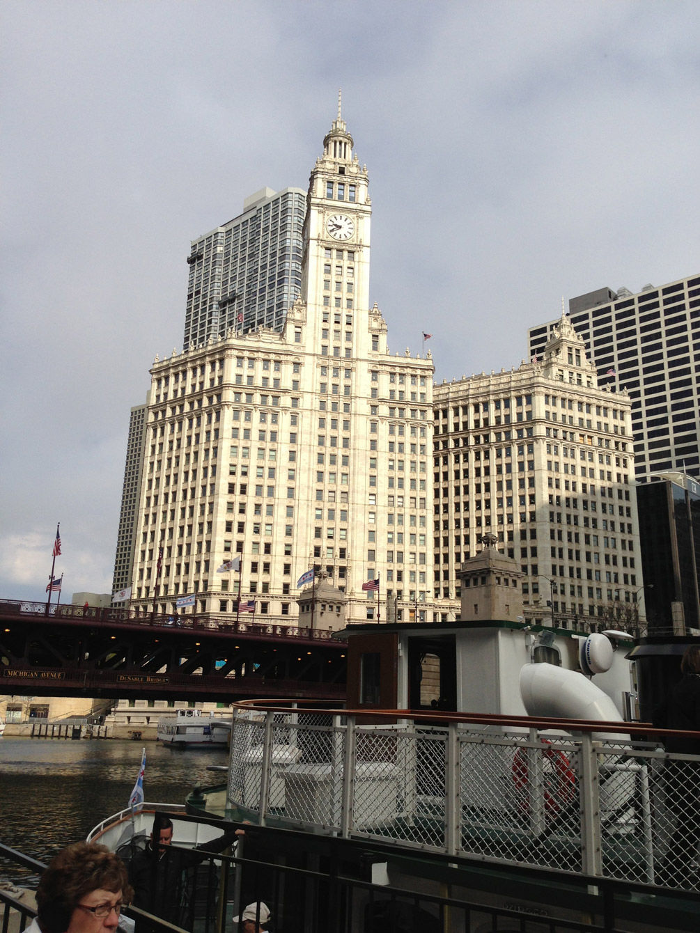 The building that gum bought – The Wrigley Building.