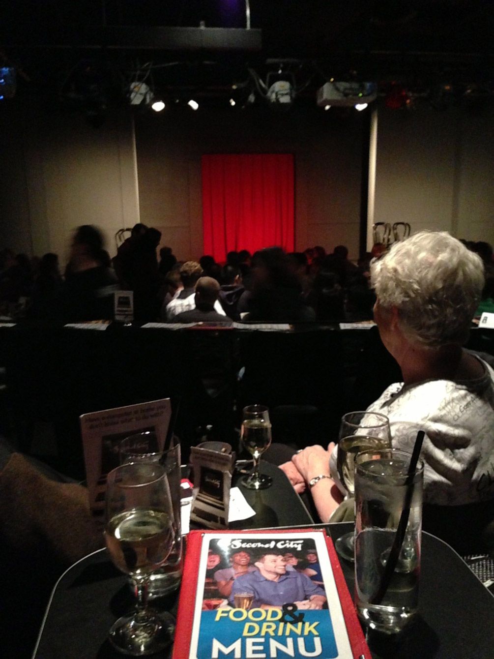 This famous comedy club was home to dozens of SNL alumni. The show did not disappoint.