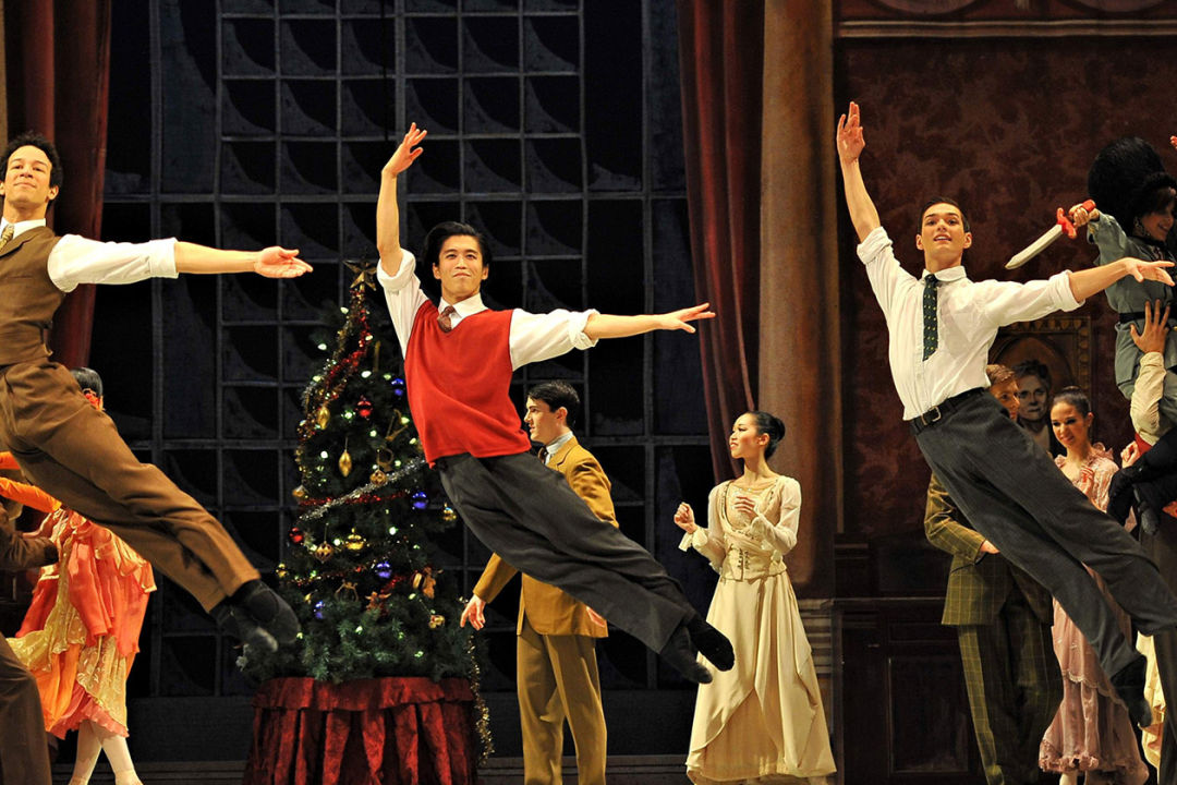 Nutcracker by Royal Winnipeg Ballet. Photo: Vince Pahkala