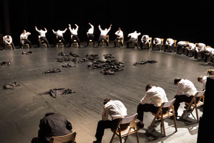 Minus One by Les Grands Ballets Canadiens de Montreal. Photo: John Hall