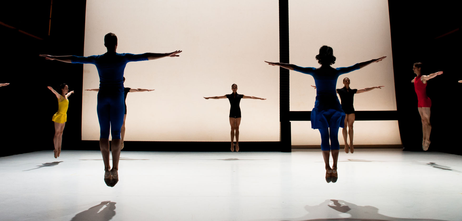 Lines Cubed by Jessica Lang Dance. Photo by Takao Komaru