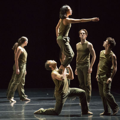 Thousand Yard Stare by Jessica Lang Dance (JLD). Photo: Todd Rosenberg