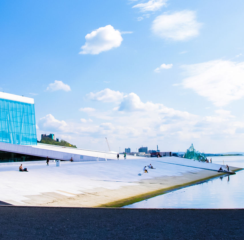 Opera house in Oslo Norway. 2017 Tours