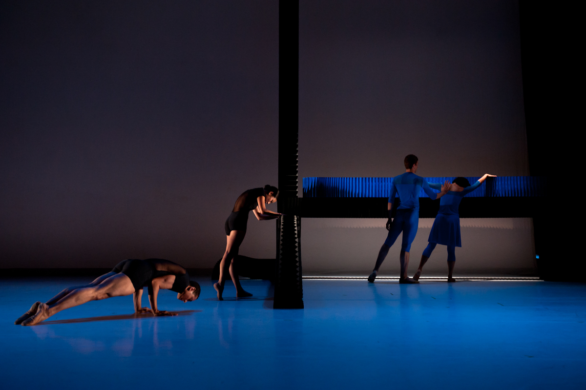 Jessica Lang Dance, Lines Cubed with design by molo.