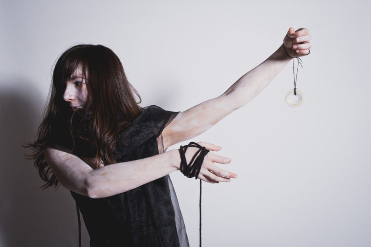 Matilda Cobanli in The Damned Girl by Impulse Theatre