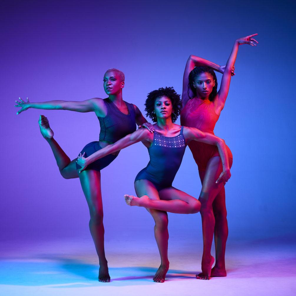 Alvin Ailey® American Dance Theater's Akua Noni Parker, Jacqueline Harris, Jacqueline Green. Photo: Andrew Eccles