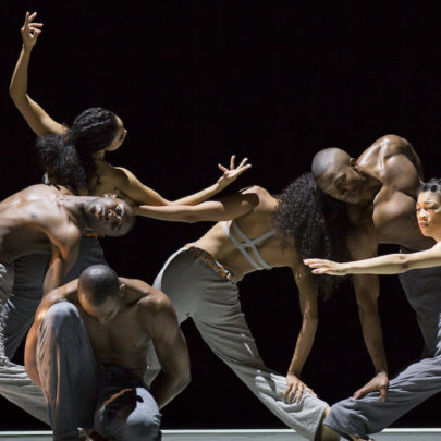 Alvin Ailey® American Dance Theater in Untitled America. Photo: Paul Kolnik