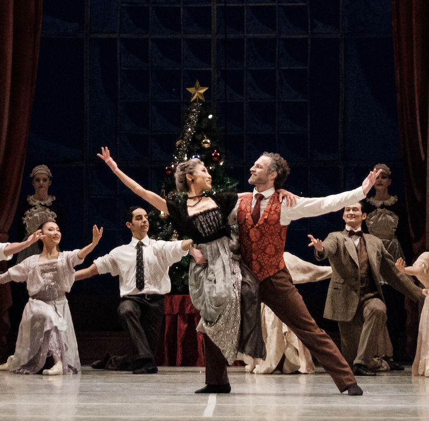 Nutcracker by Royal Winnipeg Ballet. Photo: Daniel Crump