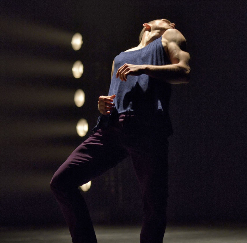 Ballet BC Dancer Brandon Alley in To This Day. Photo: Michael Slobodian