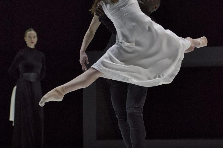 Romeo + Juliet by Ballet BC. Dancers: Emily Chessa, Gilbert Small. Photo: Michael Slobodian