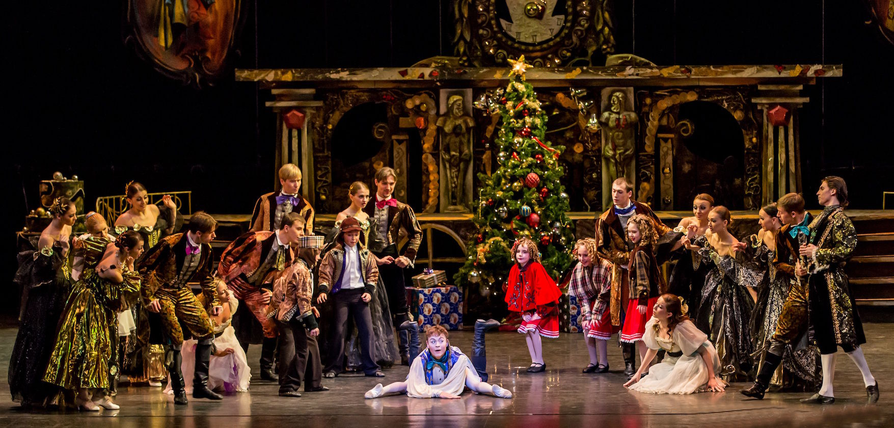 Nutcracker by Ukrainian Shumka Dancers. Photo: Gregg Ingram