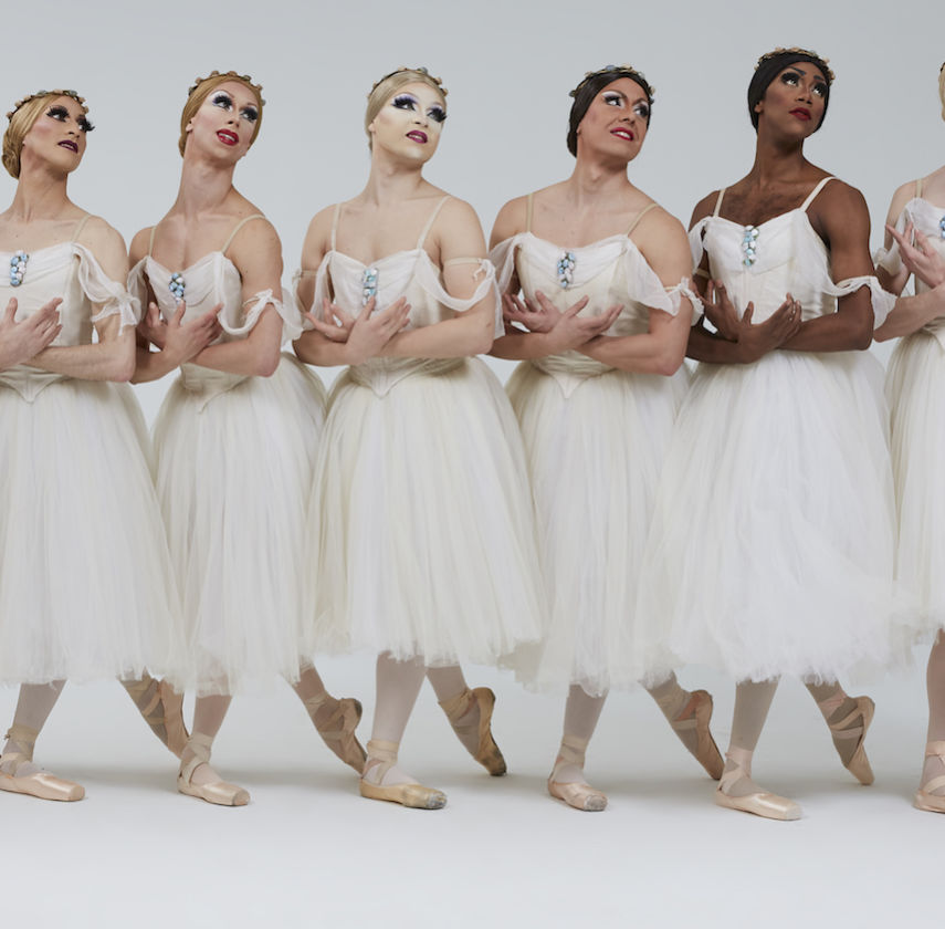 Les Sylphides by Les Ballets Trockadero de Monte Carlo. Photo: Zoran Jelenic