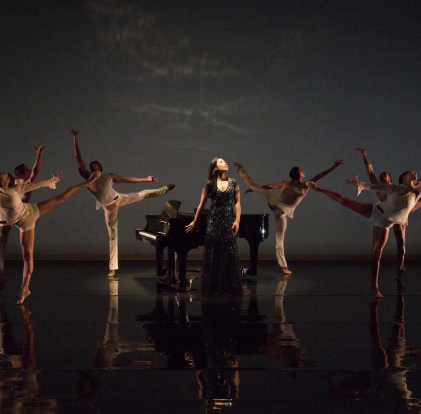 Joyce Yang with Aspen Santa Fe Ballet. Photo: Michele Cardamone