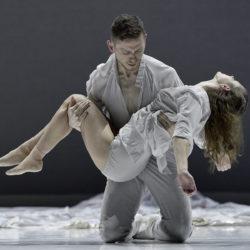 Romeo + Juliet by Ballet BC. Dancers: Emily Chessa, Brandon Alley. Photo: Cindi Wicklund