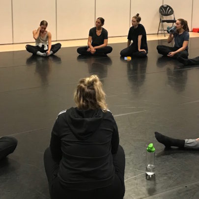 2019 Choreo Lab daily debrief