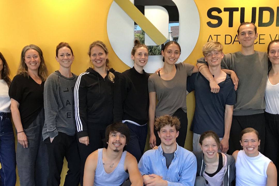 Choreographic Lab 2019 participants