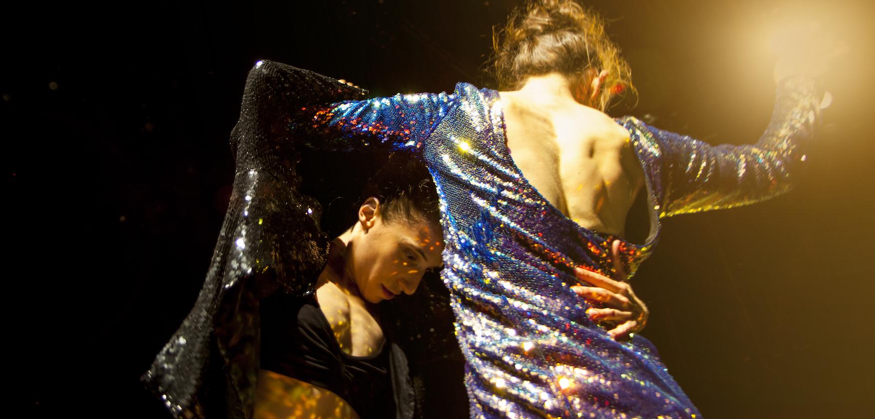 Vanessa Goodman & Belinda McGuire in The Other Half. Photo: Ben Didier