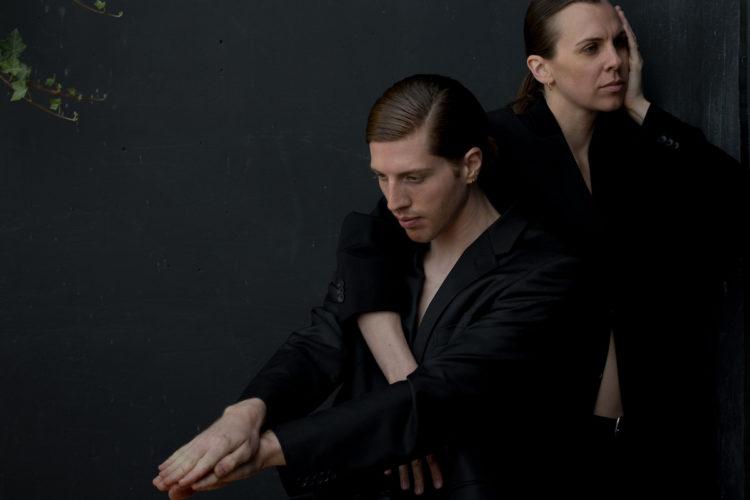Alexis Fletcher, Andrew Bartee in SUITS. Photo: Cindi Wicklund