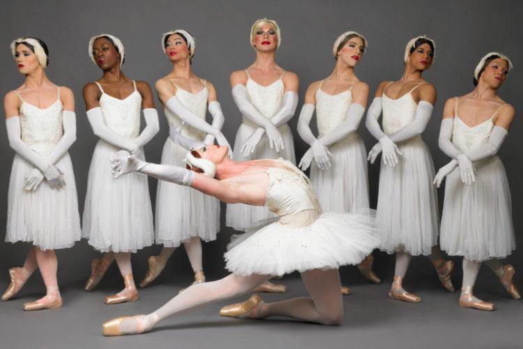 Les Ballets Trockadero de Monte Carlo in Swan Lake. Photo: Sascha Vaughan