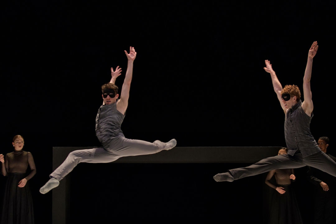 Romeo + Juliet by Ballet BC. Dancers: Chase Buntrock and Zenon Zubyk. Photo: Michael Slobodian