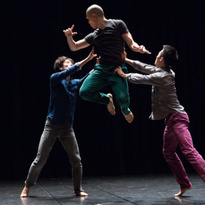 Balance Imbalance by Bereishit Dance Company. Photo: Nikith Nath