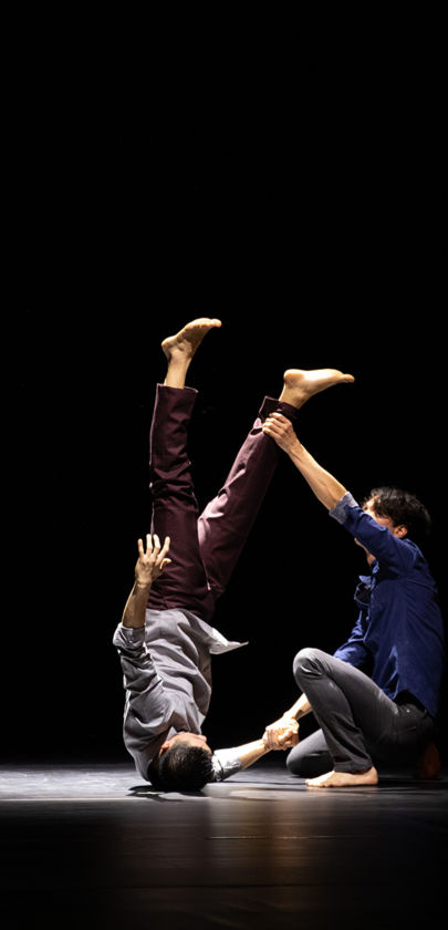 Balance & Imbalance by Bereishit Dance Company. Photo; Christopher Duggan
