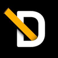 DV logo roundel