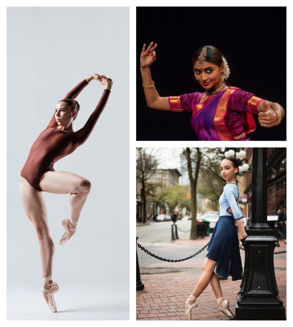CDP - Training winners: Mikaela Kos, Ashvini Sundaram, Maya Milic